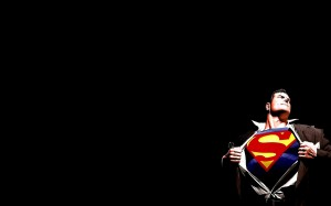 Superman-Black-Background