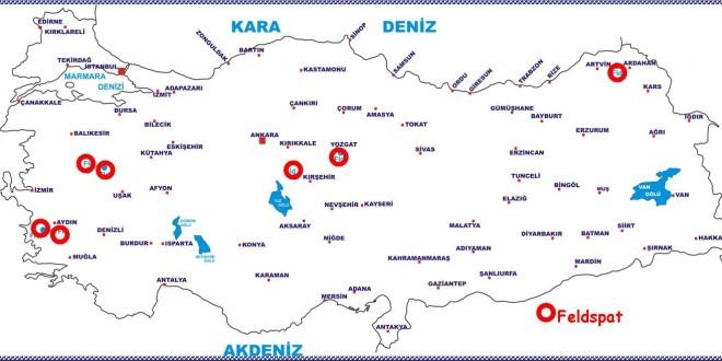 Türkiyedeki Feldspat Yatakları