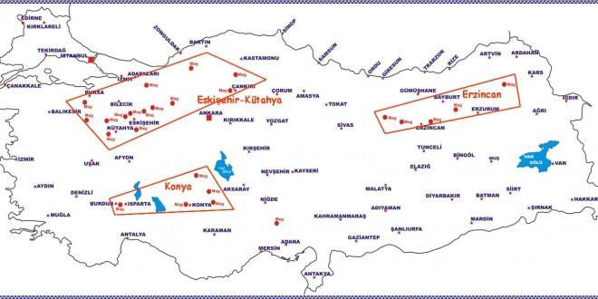 Türkiyedeki Manyezit Yatakları