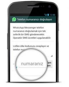 whatsapp_dogrulama kodu